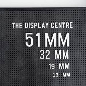 buy a large letter board 915 x 610mm the display centre With large peg board letters