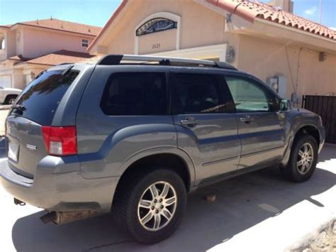 2004 Mitsubishi Endeavor Limited by Sell Used 2004 Mitsubishi Endeavor Limited Sport Utility 4