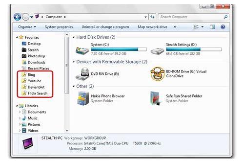 baixar do servidor de pesquisa do windows 7