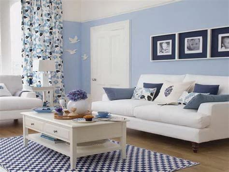 how to repair living room with baby blue paint