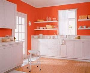 orange color shades and modern interior decorating color With kitchen cabinet trends 2018 combined with joy division wall art