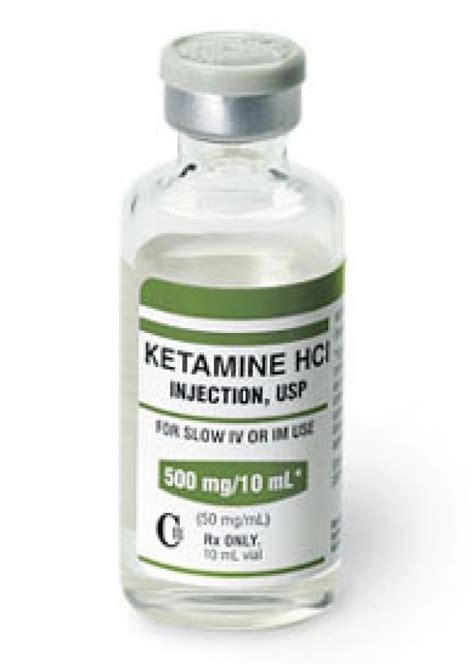 ketamine forms what is ketamine made of