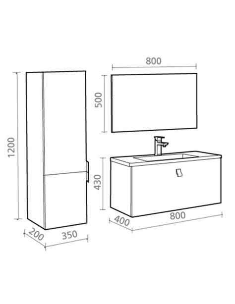 Badezimmermöbel Maße by Badm 246 Bel G 228 Ste Wc Waschbecken Waschtisch Spiegel