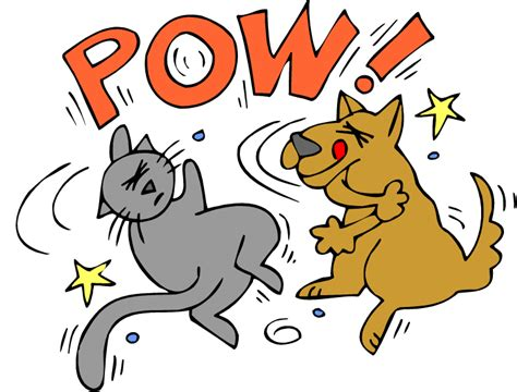 Fighting Clipart The Gallery For Gt And Cat Fighting
