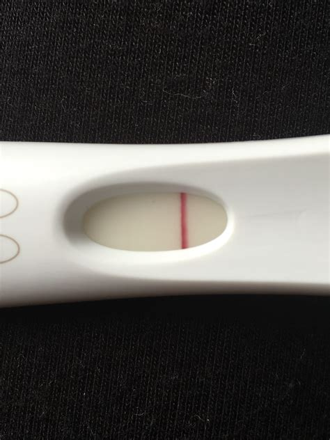 Mixed pregnancy test results