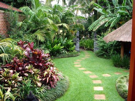backyard tropical ideas tropical garden ideas