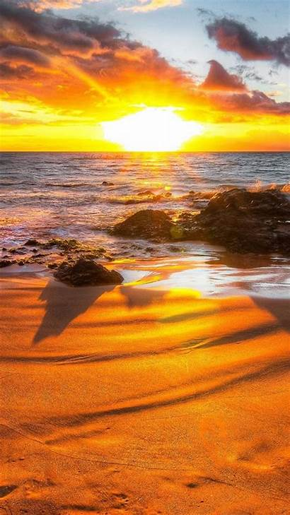 Sunset Beach Iphone Wallpapers Backgrounds Phone California
