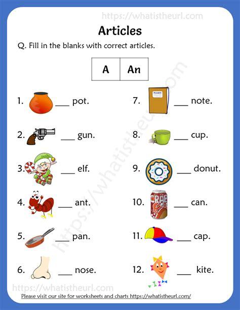 articles worksheet  grade  rel   home teacher