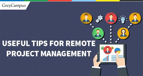 Useful Tips For Remote Project Management  Project Management