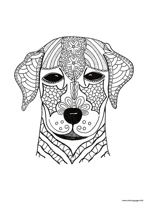 woof  adult hard advanced coloring pages printable