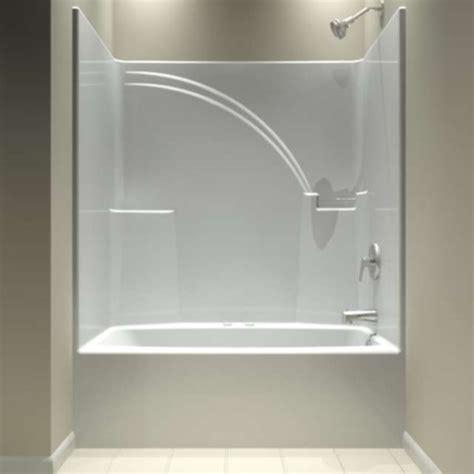 aquarius tub  shower units  piece shower units