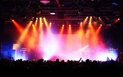 Concert Background Crowd Rock Stage Backgrounds Audience