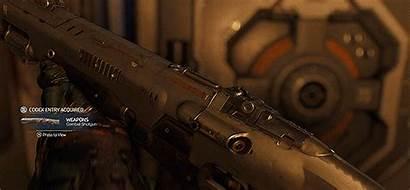 Doom Shotgun Uac Heavy Assault Rifle Mikael