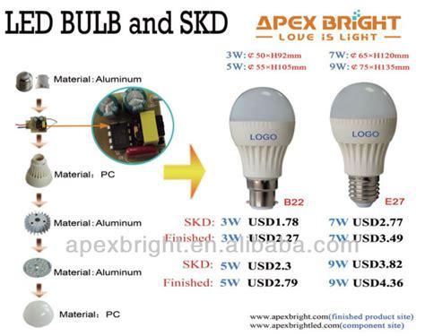 smd 2835 led light bulb components buy led light bulb