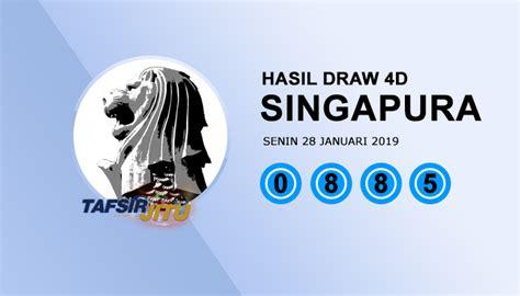 Result SGP Singapura 28 Januari 2019 Hari Senin - TafsirJitu
