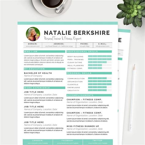 Resume Help Microsoft Word by Turquoise Resume Cover Letter References Template