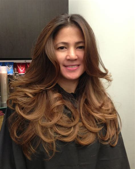 Mocha Ombre On Asian Hairmy Client Cherry Loves It Yelp
