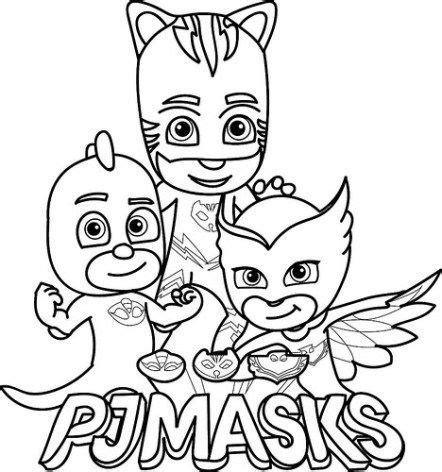 Heroes En Pijamas Para Colorear