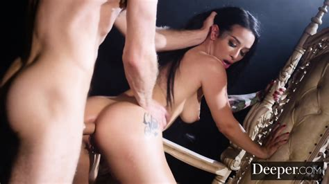 Deeper Queen Katrina Jade Intense Anal With Her Slave