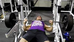 Omar Isuf 340lb Bench Press Attempt   180lbs Bodyweight