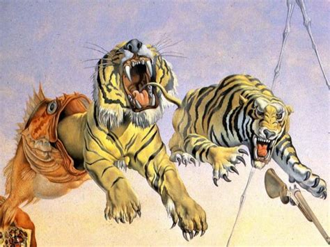 Gala And The Tigers (detail)