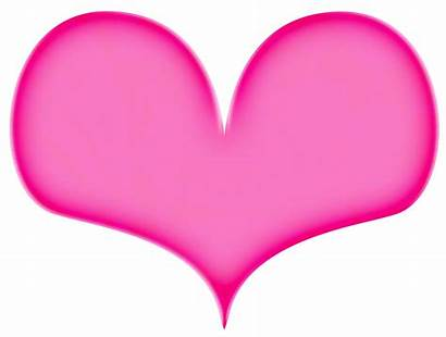 Heart Pink Clip Clipart Cliparts Hearts Cookie
