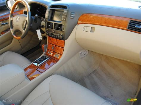 lexus ls430 interior 2005 lexus ls 430 sedan interior photo 40038726