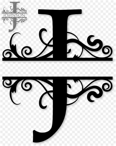 monogram letter clip art  png    transparent monogram png