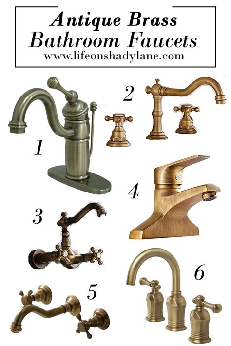 Unlacquered Brass Faucet Bathroom by Antique Brass Bathroom Faucets House Plans With Indoor