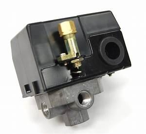 Air Compressor Pressure Switch 95 125 Psi  4 Port  1  4