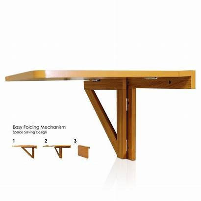 Wall Mounted Table Folding Drop Leaf Desk