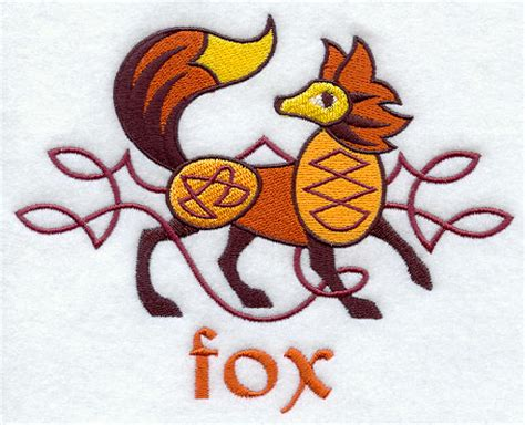 gallery celtic fox designs