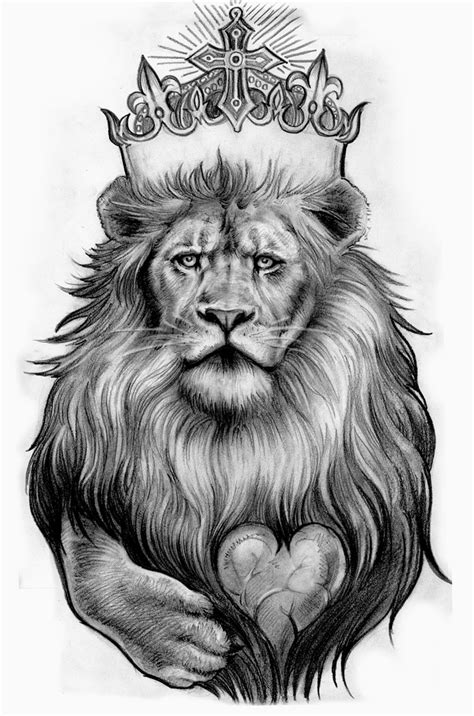 Lion Tattoos Designs, Ideas and Meaning | Tattoos For You