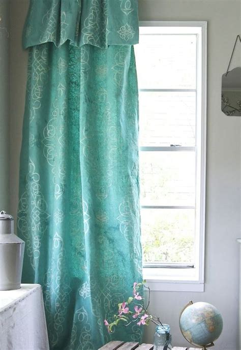 diy drop cloth curtains     guide patterns