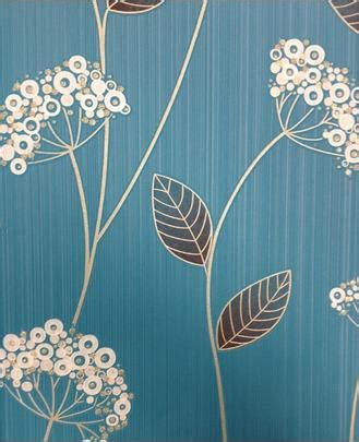 teal blue floral wallpaper graham brown