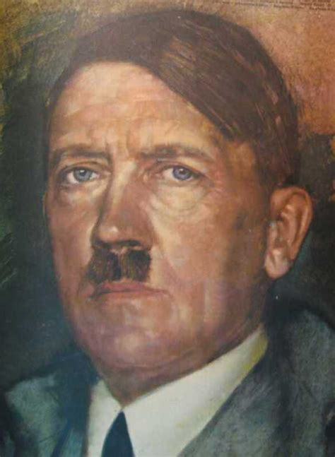 hitleroil painting carolyn yeager