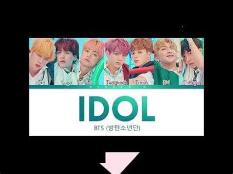 Bts (방탄소년단) Idol Mp3 Download Youtube