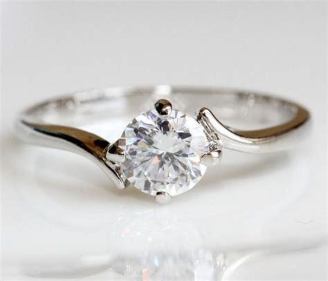 simple and engagement ring that in your