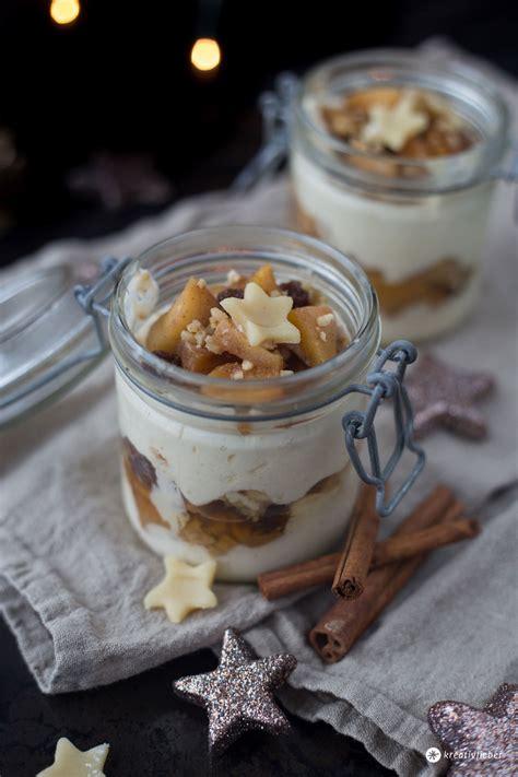 dessert für weihnachten bratapfel tiramisu mit spekulatius dessert idee f 252 r