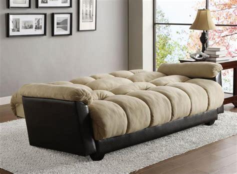 click clack futon click clack beige futon sofa piper collection style 480mfr