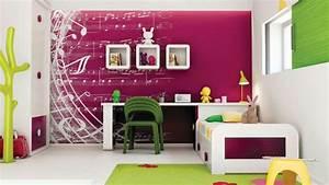 Wandgestaltung Für Jugendzimmer : wandfarbe musik noten wandgestaltung im m dchenzimmer kinderzimmer babyzimmer jugendzimmer ~ Markanthonyermac.com Haus und Dekorationen