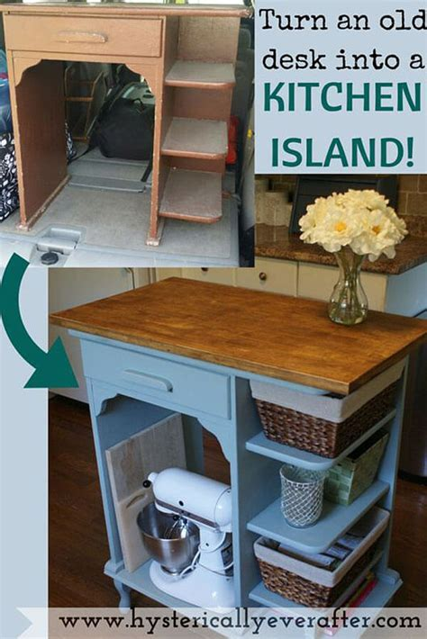 23 Fantastic DIY Kitchen Island Ideas to Transform Your