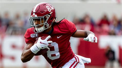 Alabama football: Tide scores first with John Metchie 40 ...