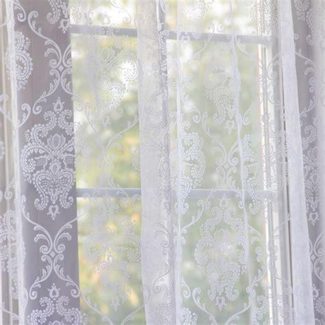 damask curtain