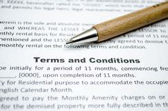 Terms & Conditions Stock Photography  Image 30368582
