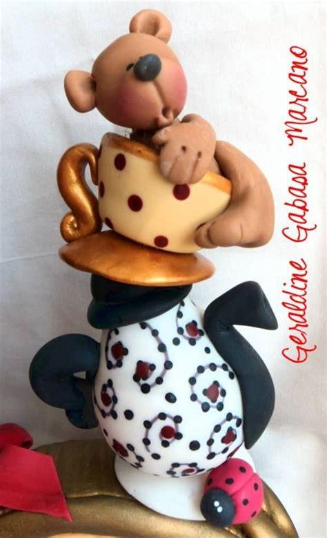 polymer clay porcalena fria pasta francesa masa mo porcelana fria nenas