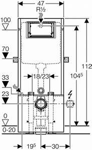 Geberit Spülkasten Anleitung : wand wc baustein sanbloc geberit bauh he 1120 mm mit ~ Michelbontemps.com Haus und Dekorationen