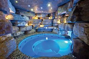Hot Tub Grotto | Outdoors | Pinterest | Grotto pool ...