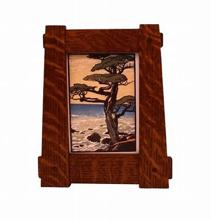 Wood Frame Craftsman Frames 5x7 Tapered Tenon
