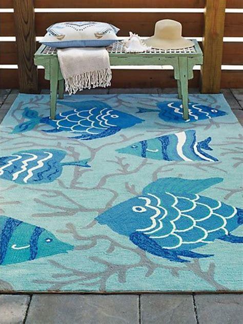 Go Fish Indoor/Outdoor Rug   Cottage Home®